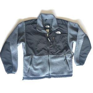 The North Face Womens Denali Fleece Jacket Grey Bl